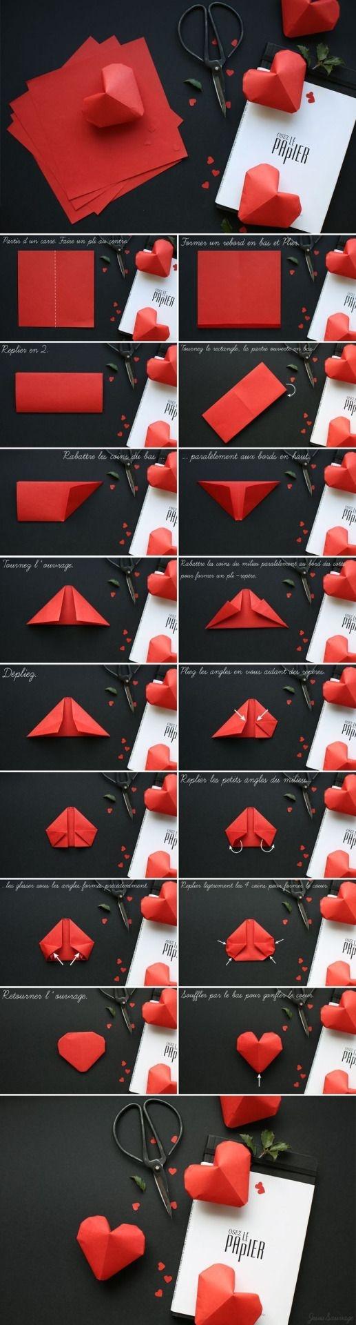 Papierowe serduszka