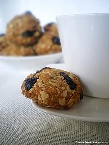 Ciastka owsiane z żurawiną :) FIT ciasteczka już na blogu. Zapraszam!