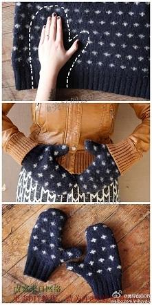 Pomysł na rękawiczki :)