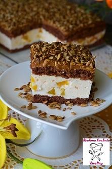 Ciasto chrupiąca brzoskwinka Przepis po kliknięciu w zdjęcie :)