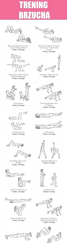 Plan treningu Brzuch