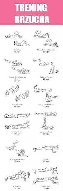Plan treningu brzucha