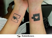 Puzzlowy tatuaż