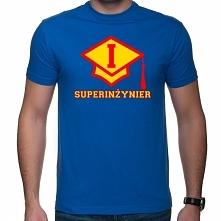 Prezent dla inzyniera - koszulka Superinzynier