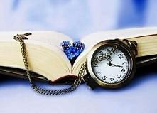 Książka  #ładne #książki #kwiaty #czas #zegarki #cudowne