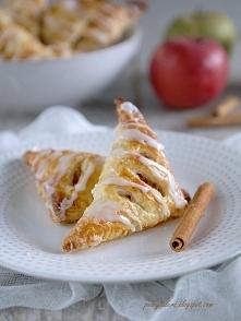 Rożki z jabłkami   Przepis ...