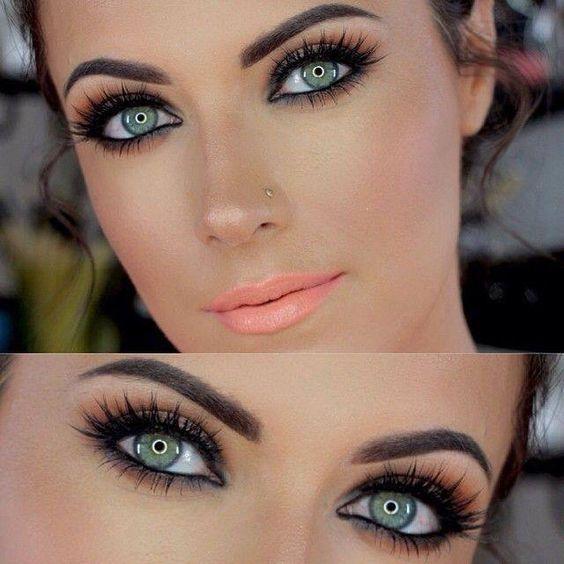 Makijaż Dla Zielonych Oczu Na Makijaż Zszywkapl