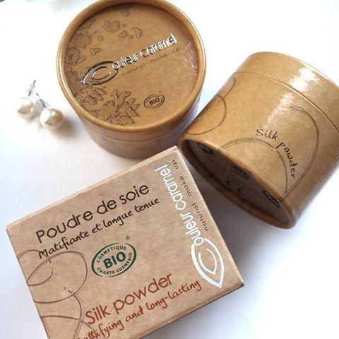 Nasza perełka - puder jedwabny Couleur Caramel poleca się do wykończenia makijażu