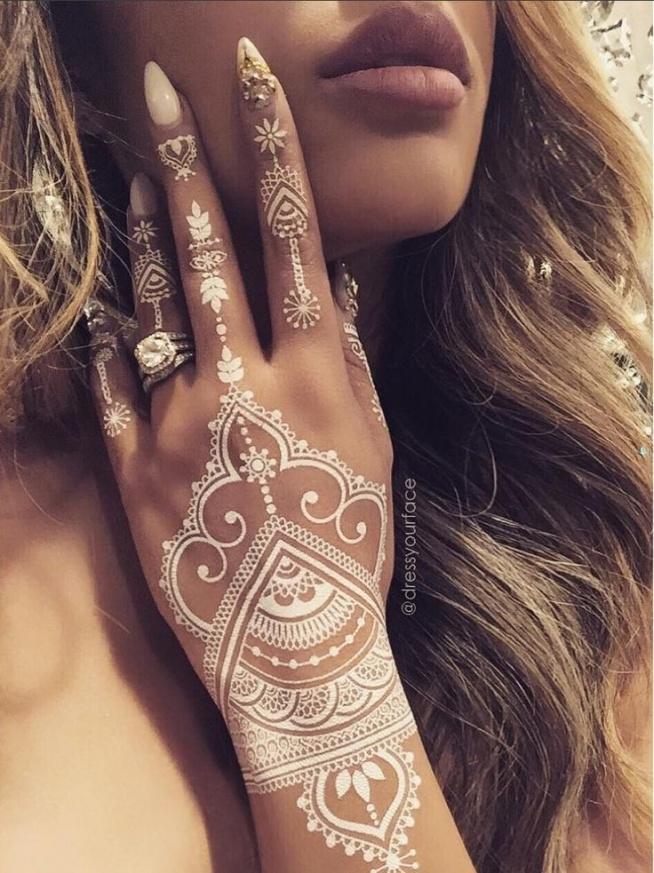 biała henna