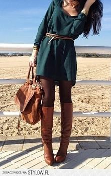 Piękna sukienka z paseczkiem od kolkinga z 31 stycznia - najlepsze stylizacje i ciuszki