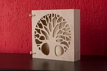 Ręcznie robiona szafeczka. Wspaniały pomysł na prezent dla młodej pary. DWA-TAK.PL