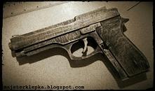 Beretta M9 na gumki recepturki