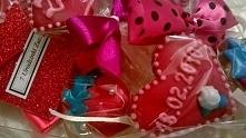 Różowy, słodki bukiet na 7 urodzinki Zuzi.