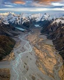 Alpy Południowe w Nowej Zelandii :)
