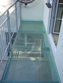 szkło w budynku