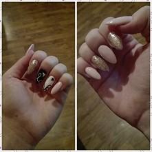Moje nowe paznokcie :) jak wam się podobają?