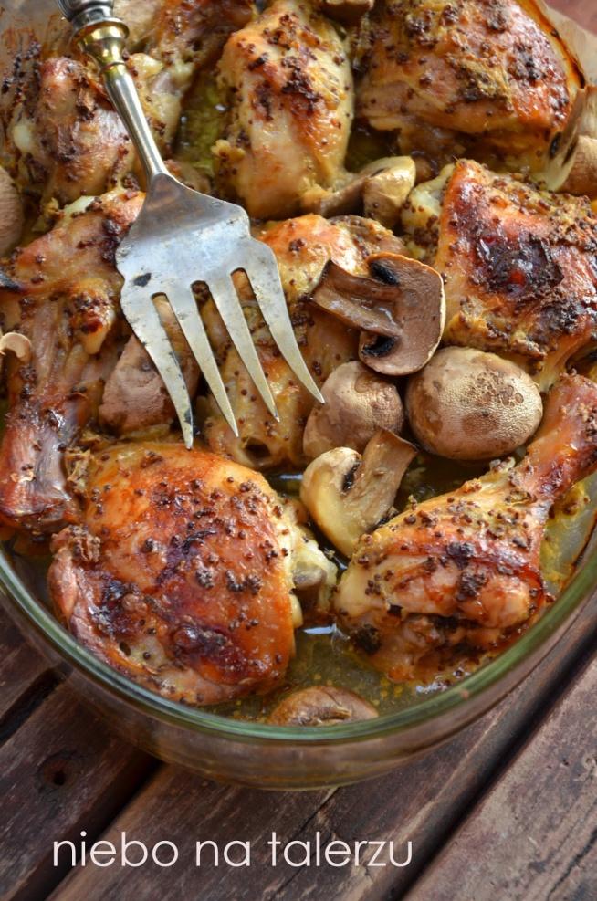 kurczak pieczony w musztardzie, przepis po kliknięciu na zdjęcie