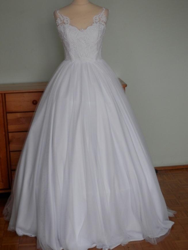 Nowa Nieużywana Suknia ślubna Na Sprzedaż Rozm 3638 1000 Z Na