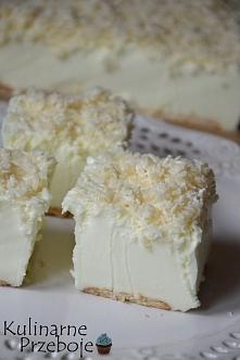 Ciasto Śnieżny puch – bez pieczenia  Przepis po kliknięciu w zdjęcie! ;)