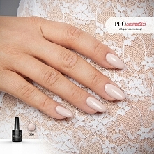 Paznokcie nude czyli nudziaki ślubne pomalowane z użyciem lakieru hybrydowego PROnail 550 – Uciekająca Panna Młoda