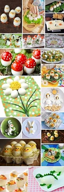 sposoby na podanie jajek