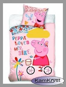 Pościel dziecięca ze Świnką Peppą - pościel bawełniana dla najmłodszych