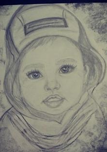 moj szkic dziecka