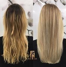 Przejście na całościowy blond