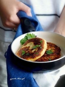Pomysł na szybki obiad - kotlety ziemniaczane. Pycha! Przepis po kliknięciu w zdjęcie