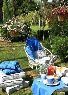 chciałabym mieć taki ogród