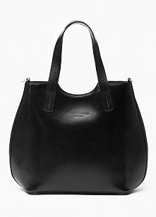 Czarna torebka Vera Pelle, ...