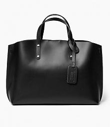 Czarna torebka shopper bag