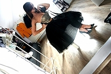 czarny tiul! <3  w sprawie takiej spódnicy - pisz na ajmadatelier@gmail.co...