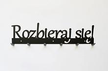 Rozbieraj się! - wieszak na ubrania art-steel.pl