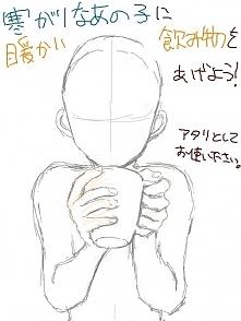Postać z kawą
