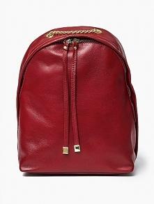 Plecak damski w kolorze czerwonym