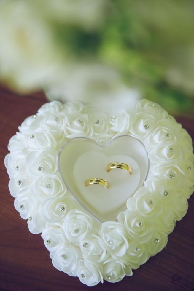Poduszka Na Obrączki Kupiona Na Aliexpress O Moich ślubnych Za Na