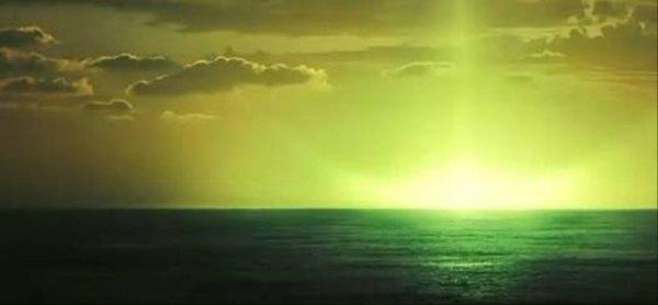 Jedno z moich największych marzeń... Zobaczyć Zielony Promień.