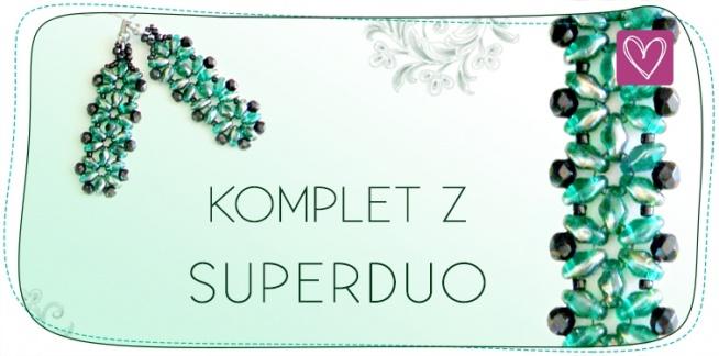 Jak zrobić bransoletkę z koralików SuperDuo? Darmowy kurs tworzenia biżuterii