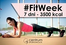 #FitWeek to tygodniowy program treningowy dla każdej osoby, która chce wzmocnić swoje całe ciało i pozbyć się zbędnej tkanki tłuszczowej.