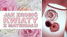 Opis na HAART.pl Jak zrobić kwiaty z materiału.