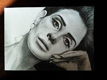Tym razem Lana Del Rey ;)  Rysuję również na zamówienie :))