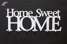 Home Sweet Home - wieszak na ubrania art-steel.pl