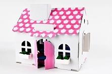 Zabawka: Mały Domek z tektu...