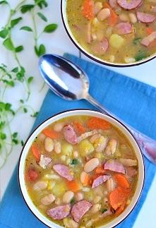 Zupa fasolowa błyskawiczna