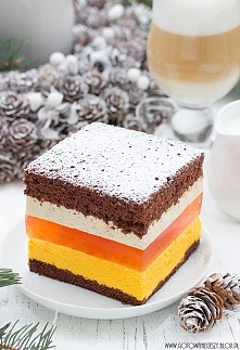 Ciasto pomarańczowo-kawowe od Kasi Guzik z Gotuję bo lubię:)