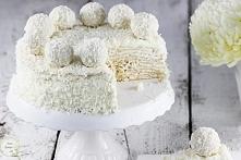 Tort Raffaello na andrutach...