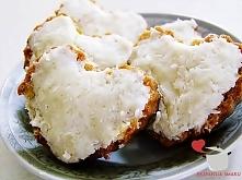 Ciastka kokosowe na walentynki