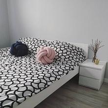 Poduszki dekoracyjne, dodatki, wystrój wnętrz, sypialnia, łóżko - zajrzyj na ...