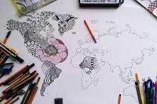 mapa świata  ig eloangiee